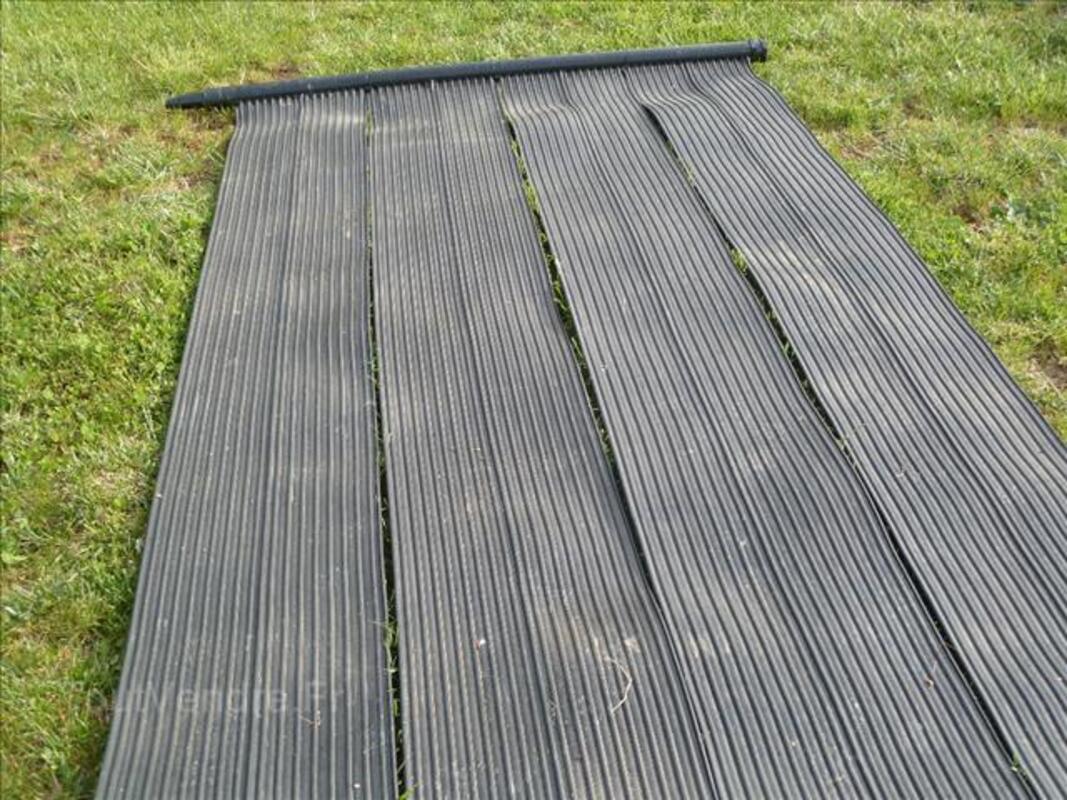 tapis chauffage solaire piscine