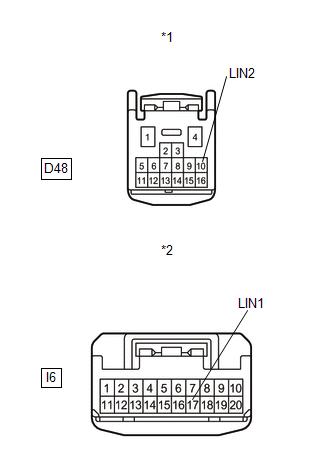 Toyota Venza: P/W Master Switch Communication Stop (B1206