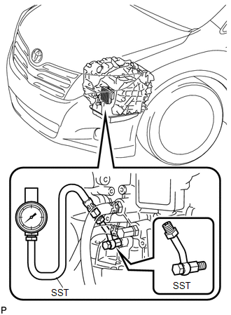 Toyota Venza: Pressure Control Solenoid