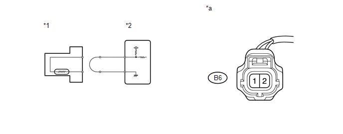 Toyota Venza: Engine Coolant Temperature Circuit