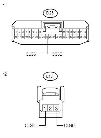 Toyota Venza: Open in Rear Floor Electrical Key Oscillator