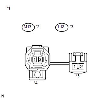 Toyota Venza: Rear Speed Sensor RH Circuit (C0210/33,C0215