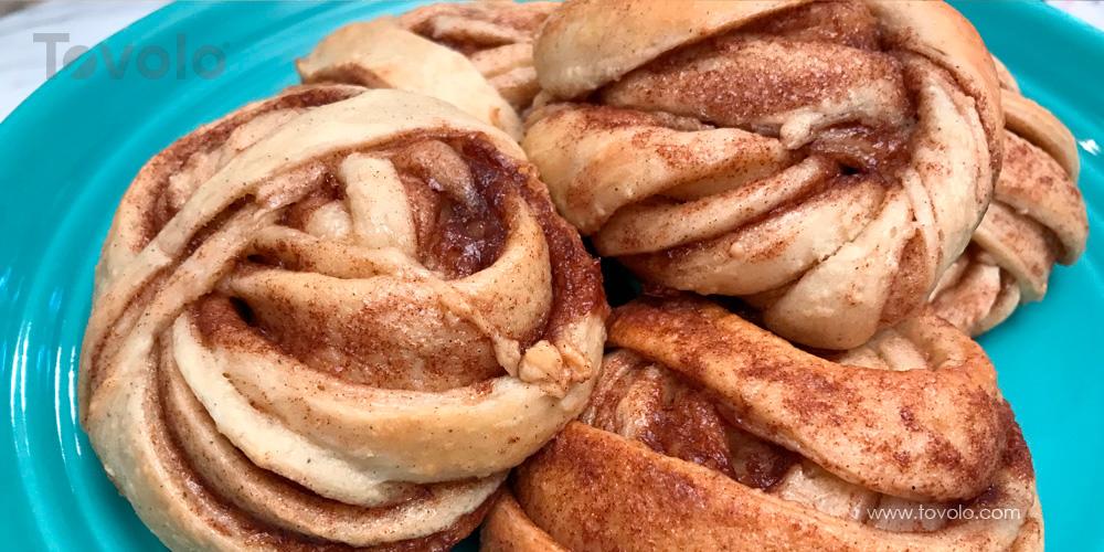 kanelbullar or swedish cinnamon