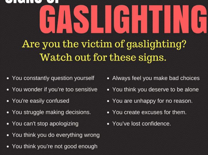 Gaslighting Signs