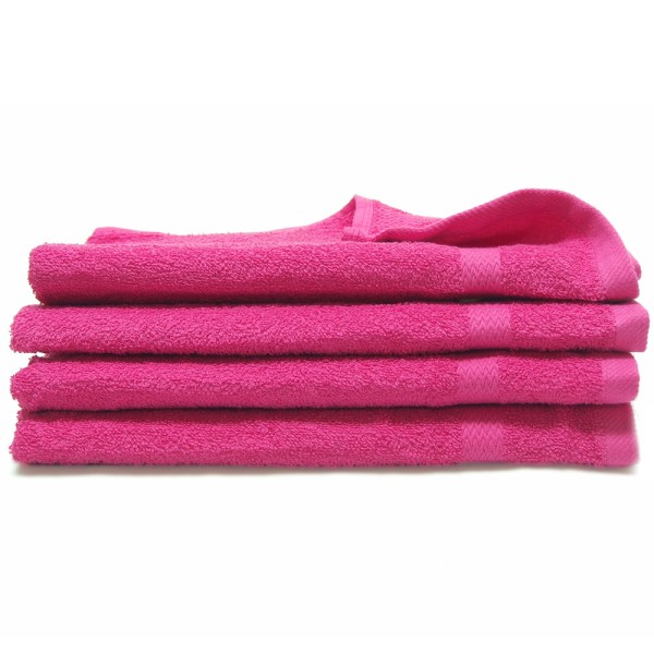16x27 - 100 Cotton Hot Pink Hand Towels Towel Hub