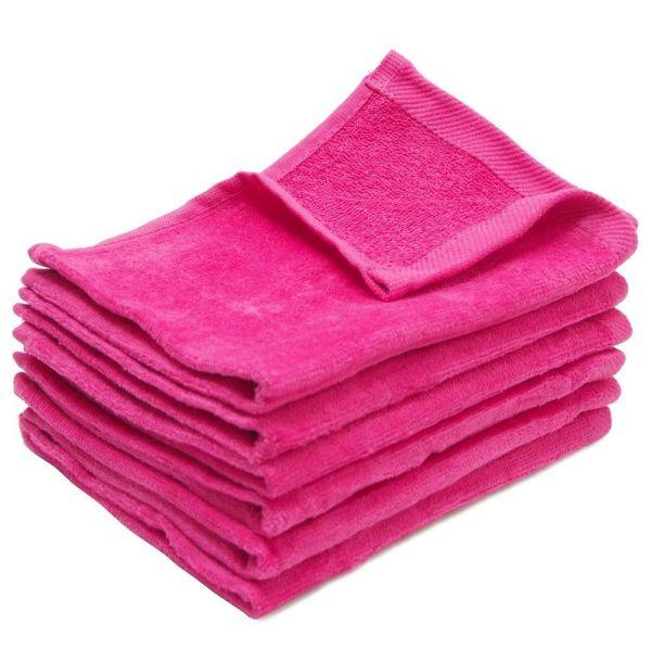 11x18 Hot Pink Fingertip Towel - Super Center