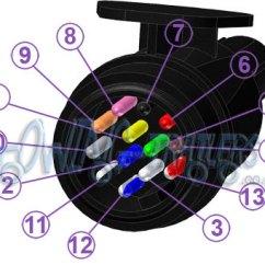 13 Pin Trailer Plug Wiring Diagram Uk 2001 Vw Jetta Engine Circuit Panel: Rear Pins Reversed