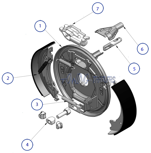 Exploded Diagram Of Rear Brake Assembly Here