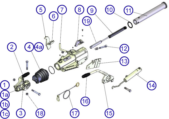 trailer hitch lights wiring diagram 2003 toyota corolla headlight hu12 3500kg spares - towing and trailers ltd