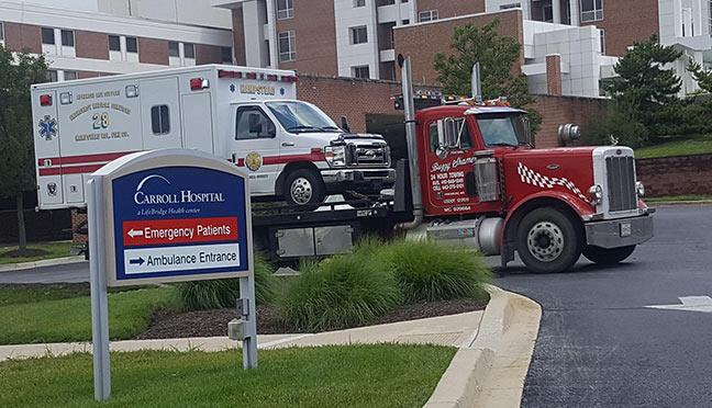 tow-ambulance-carroll-county - Carroll County Towing, Car & Heavy