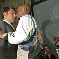 Sportrait: Floyd Mayweather and Oscar De La Hoya