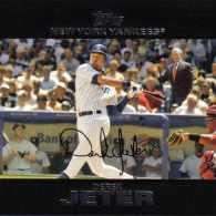 Special Guests Make Appearance on Derek Jeter Baseball Card