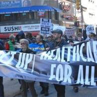 ACT UP Marks 20 Year Anniversary with Health Care Protest
