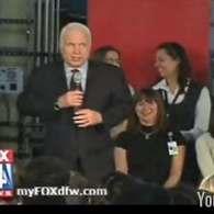 John McCain Nearly Tells Crowd: I am a Liberal Republican