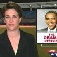 Rachel Maddow Interviews Obama