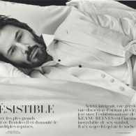 Keanu Reeves Flaunts His Beard and Bod for <i>Vogue Hommes</i>