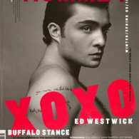 Ed Westwick Goes Shirtless for Arena Homme +