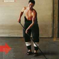 Canadian Hockey's Olympic Hero Sidney Crosby's Beefcake Shot