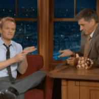 Neil Patrick Harris Plays With Silly Bands