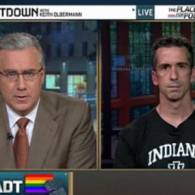 Watch: Olbermann on McCain's DADT Hissyfit and Saxby Chambliss