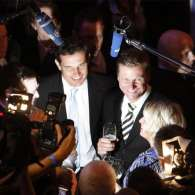 German Foreign Minister Guido Westerwelle Ties Knot with Partner Michael Mronz in Civil Partnership