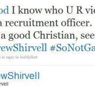 'Andrew Shirvell' Continues War On 'Gay Agenda'