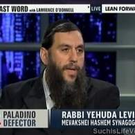 Watch: Rabbi Yehuda Levin Discusses Paladino Defection, Defends Anti-Gay 'Brainwashing' Remarks