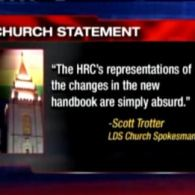 HRC Claims its Advocacy Made the Mormon Church Less Anti-Gay; Mormon Church Says, That's 'Simply Absurd'
