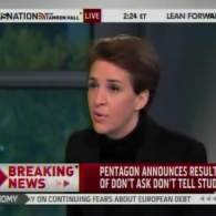 Watch: Rachel Maddow on the Pentagon's 'DADT' Report — 'This Report is Unequivocal'