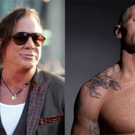 Mickey Rourke Confirms He'll Play Rugby Icon Gareth Thomas, Who Happens to Be Gay