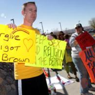 Activists Protest Anti-Gay Pastor's Book Signing In El Paso