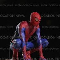 Spider-Man in Action: Andrew Garfield Shows Off His….Crouch