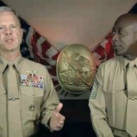 Watch: Marine Commandant James Amos Has a Message for Troops Regarding 'DADT' Implementation