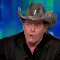 Watch: Ted Nugent Repulsed by 'Unnatural Man-on-Man Sex' But Has No Problem with Gays
