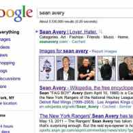 Sean Avery Wikipedia Entry Edited to Call Him 'Fag Boy'