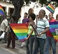 Independent Groups Hold Gay Pride 'Stroll' in Havana