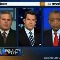 Rev. Al Sharpton and Thomas Roberts Wipe the NY Marriage Equality Table with NOM's Brian Brown: VIDEO