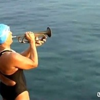 Diana Nyad Begins Swim from Cuba to Florida without Shark Cage: VIDEO