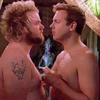 Jason Sudeikis and Tyler Labine Play Gay 'Kiss Chicken': VIDEO