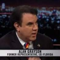Alan Grayson Schools 'Real Time with Bill Maher' on the 'Occupy Wall Street' Protests: VIDEO