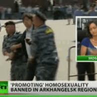 """Russian Province Bans """"Gay Propaganda""""; 40 Detained at Moscow Pride: VIDEO"""