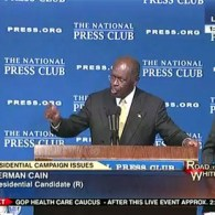 Herman Cain Breaks Into Hymn About Forgiveness After Denying Charges of Sexual Harassment: VIDEO