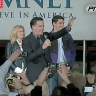 Mitt Romney Waves to Gay Activist After Being Glitter-Bombed in Minnesota: VIDEO