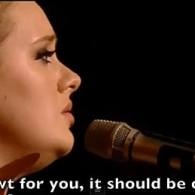 Adele Takes on Newt Gingrich: VIDEO