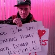 In Valentine's Video, Gay Man Announces He's Leaving U.S. to Reunite with Husband Deported by DOMA: VIDEO