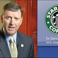 Starbucks Support for Marriage Equality Leaves Bitter Taste in Iowa Hate Group Leader's Mouth: VIDEO