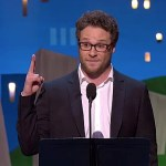 Seth Rogen Rips Brett Ratner, Chris Brown at the Independent Spirit Awards: VIDEO