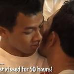Gay Couple Breaks Record for World's Longest Kiss: VIDEO