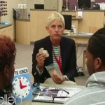 Ellen Returns to Her First Job: VIDEO