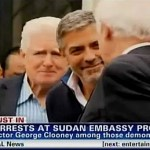 George Clooney Arrested Outside Sudanese Embassy: VIDEO